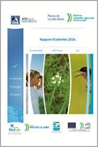 Rapport d'activités 2016. Documents à télécharger - Réserve naturelle régionale Marais de la Vacherie
